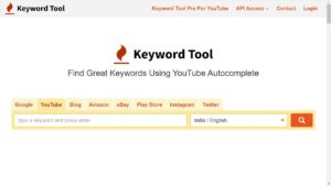 Find Keywords For Website keyword tool